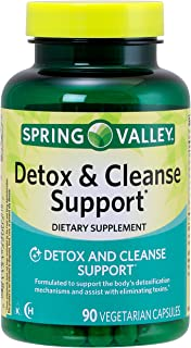 Spring Valley Detox & Cleanse Support, 90 Vegetarian Capsules
