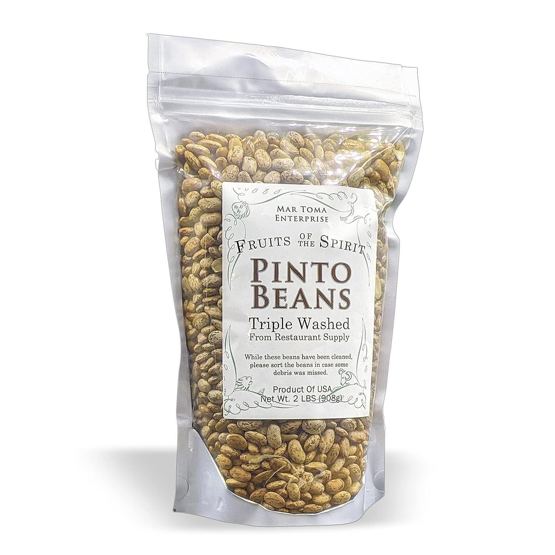 Excellent FOTS - Pinto Classic Beans Dry Bulk Pounds 2 Refried Perfect US