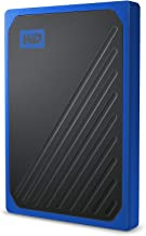 WD 500GB My Passport Go SSD Cobalt Portable External...