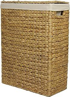 panier à linge en jacinthe d'eau, corbeille à linge, matériel naturel - plusieurs tailles disponibles : Taille 2