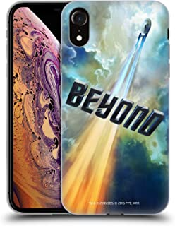 Official Star Trek USS Enterprise NCC-1701 Posters Beyond XIII Soft Gel Case Compatible for iPhone XR