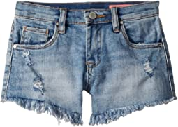 Blank NYC Kids Cut Off High-Rise Shorts in Futureproof (Big Kids)