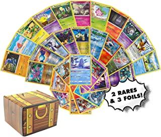 Pokemon Cards 50 Card Assorted Lot – Commons/Uncommons – Rares – Foils!..
