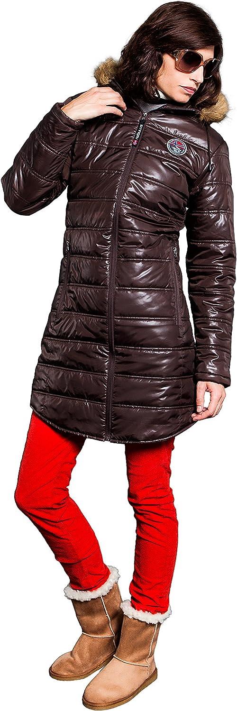 Nebulus Wintermantel Chamonix Abrigo Mujer