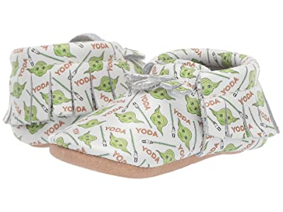 Freshly Picked Star Wars Yoda Moccasin (Infant/Toddler) (Green/White/Brown) Kid