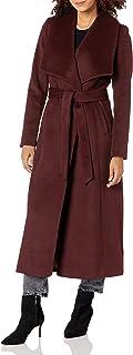 Cole Haan Women's Slick Wool Wrap Coat