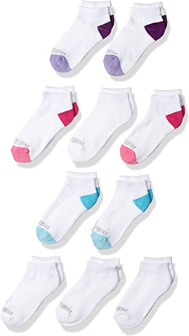 Casual Sock Fruit of the Loom girls Little Everyday Essential Cushion Low Cut Socks 10 Pack