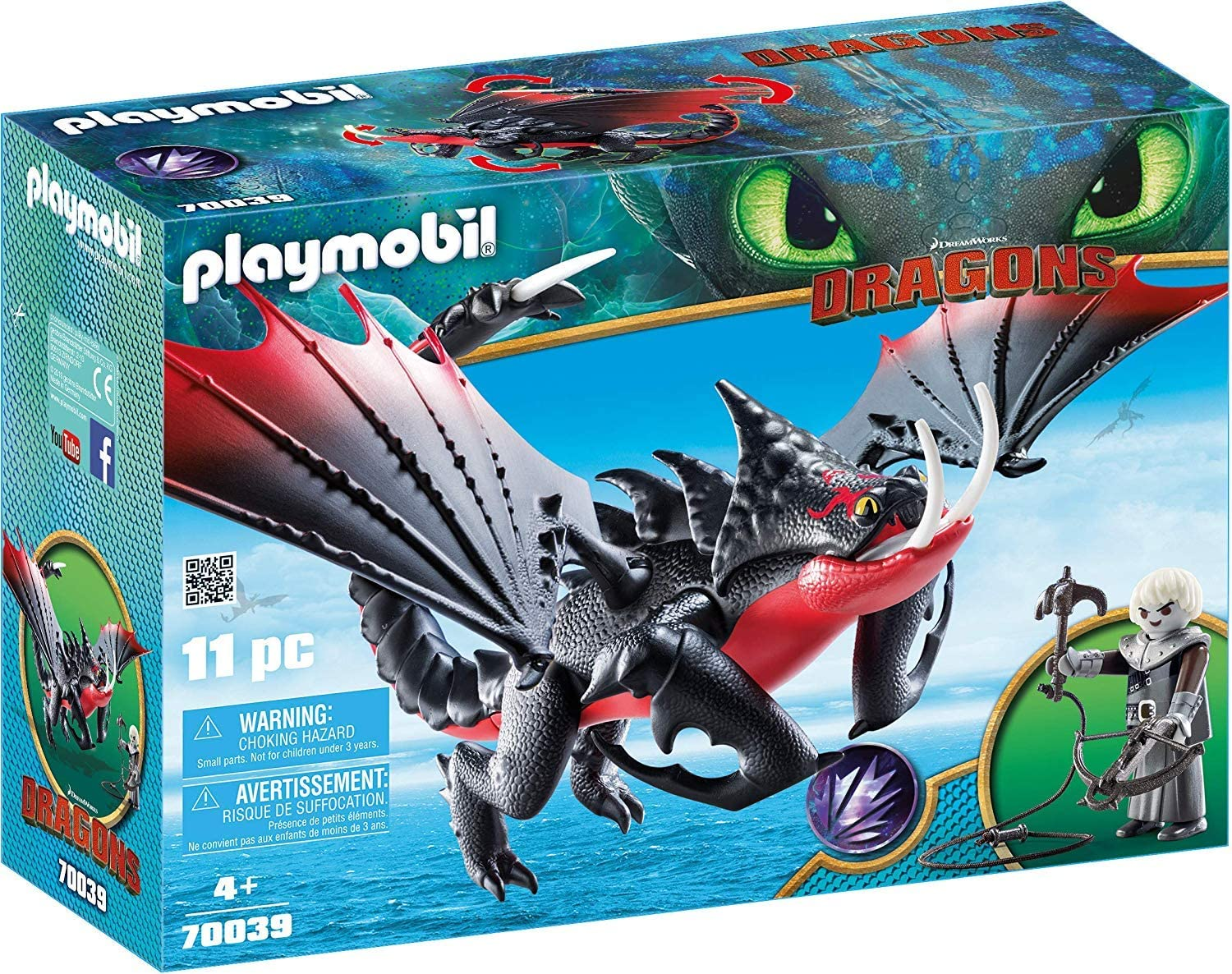 PLAYMOBIL How Special price for a limited time to Train Your Dragon Grimmel Deathgripper with III Max 44% OFF