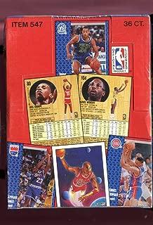 1991-92 Fleer Basketball Wax Pack Box Series 1 Set FACTORY SEALED