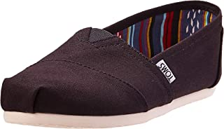 TOMS Canvas Classics, Men's Shoes, Black, 7.5 UK (41 EU)