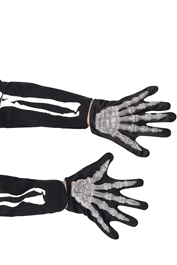 方法無法者呼吸するSmiffy's Gloves Skeleton Childs Raised Bones