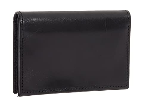 Bosca Leather Old tarjetas para Collection reforzado cuero negro de Estuche rr6qxHwCn7
