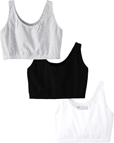 Fruit of the Loom Women's Built Up Tank Style Sports Bra