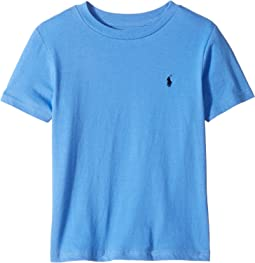 Cotton Jersey Crew Neck T-Shirt (Little Kids/Big Kids)