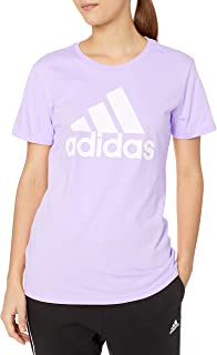 adidas Originals W Bos Co Tee, Purple Tint, X-Small