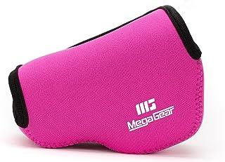 MegaGear Ultraleichte Kameratasche aus Neopren kompatibel mit Sony Alpha A6400, A6500, A6300, A6000 (16 50 mm)   Pink