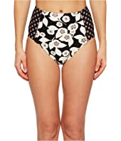 Kate Spade New York - Aliso Beach #76 High-Waist Bikini Bottom