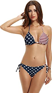 us flag thong bikini