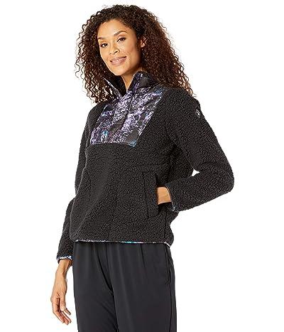 Spyder Boulder Anorak Fleece Jacket (Black) Women