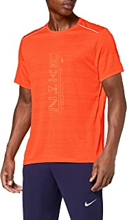 Nike Men's Dry Miler Short Sleeve Po Gx Ff T-Shirt