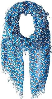 Chan Luu Women's Leopard Cashmere and Silk Scarf