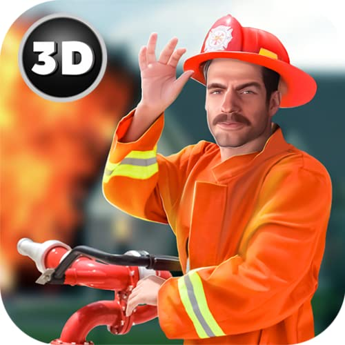 Firefighter City On Fire Rescue Daily Hero: Emergency Team Fireman Simulator