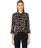Rebecca Taylor - Long Sleeve Cheetah Top