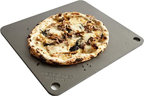 NerdChef-Steel-Stone-High-Performance-Baking-Surface-for-Pizza