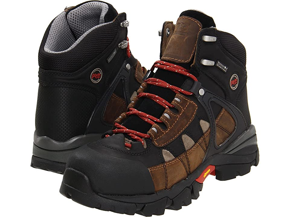 Timberland PRO Hyperion WP XL Safety Toe (Brown) Men