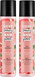 Love Beauty And Planet Volumizing Spray Dry Shampoo Juicy Grapefruit 4.3 oz, 2 count