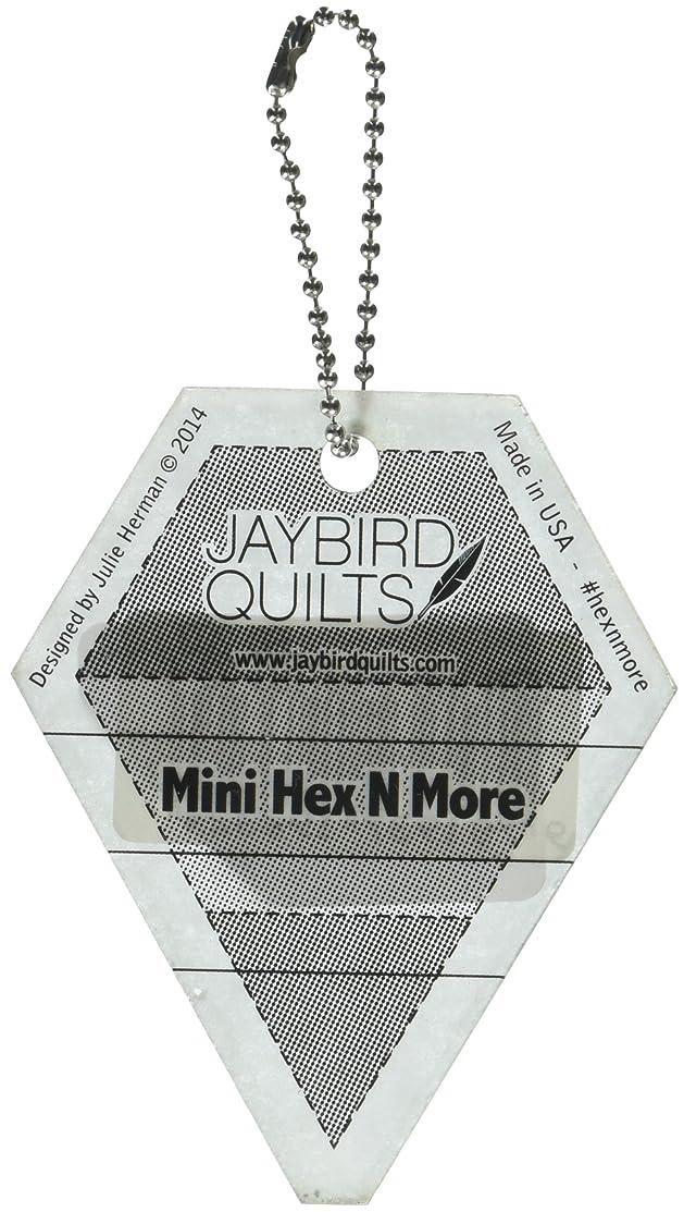 Jaybird Mini Hex N More Keychain Ruler