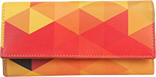 ShopMantra Multicolored PU Leather Wallet (LW00000133)