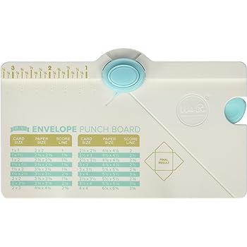 We R Memory Keepers Base para Cajas Gift Box Punch Board, Multicolor, 31.8 x 27.3 x 5.1 cm: Amazon.es: Hogar
