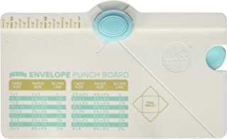 We R Memory Keepers 0633356605416 Board Punch Board & Punch-Mini Envelope (2 Piece)