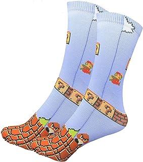 Nintendo Super Mario Bros Tube Socks