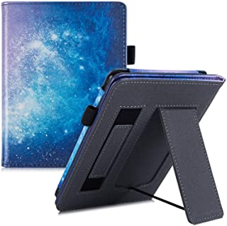 BOZHUORUI Stand Case for All-New Kindle (10th Gen, 2019) / Kindle (8th Gen, 2016) - PU Leather Protective Cover with Hand ...