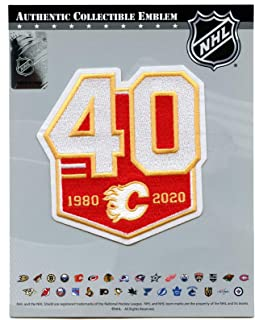 calgary flames jersey patches