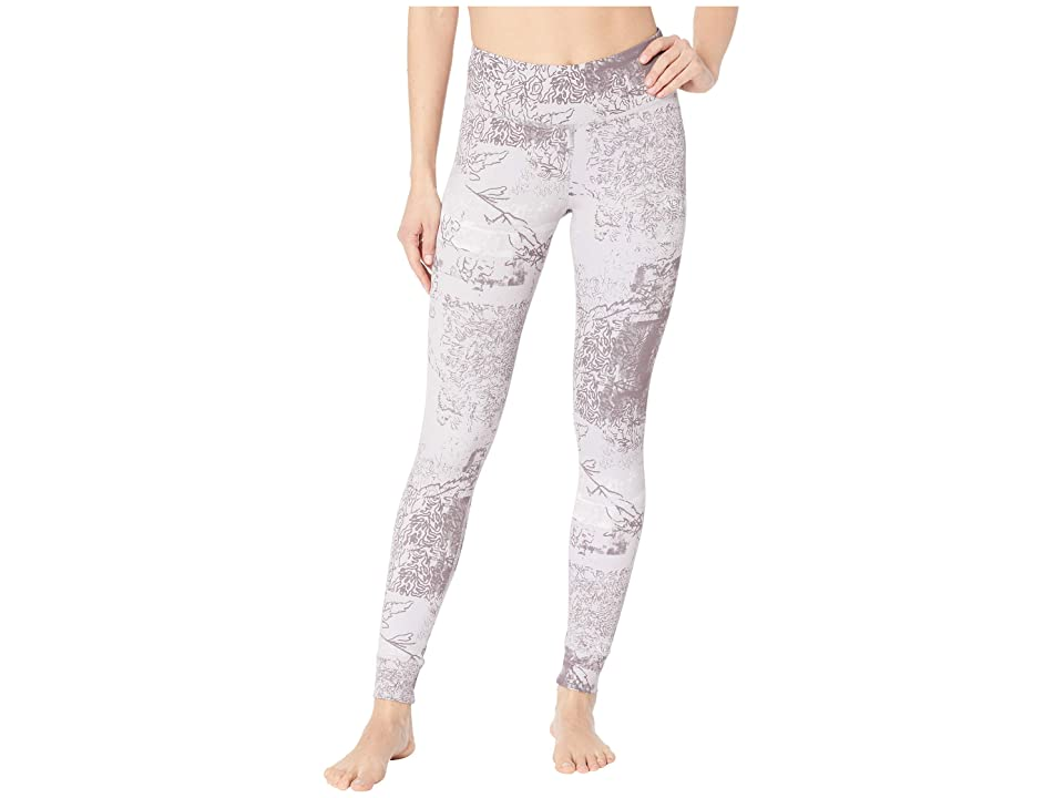 Reebok Lux Bold Tights Dismantled Flora (Lavender Luck) Women
