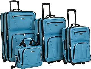 Luggage Skate Wheels 4 Piece Set, Turquoise, One Size