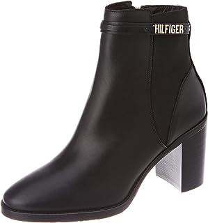 Tommy Hilfiger BLOCK BRANDING HIGH HEEL BOOT womens Fashion Boot