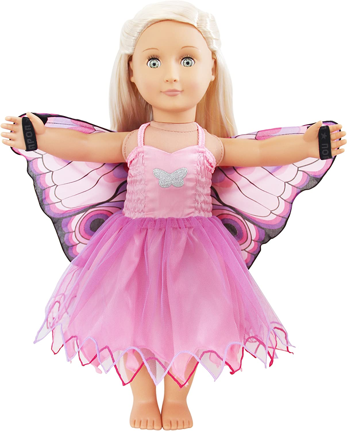 Dreamy DressUps 71012  Pink Butterfly  Dress for 18Inch 46 cm Dolls