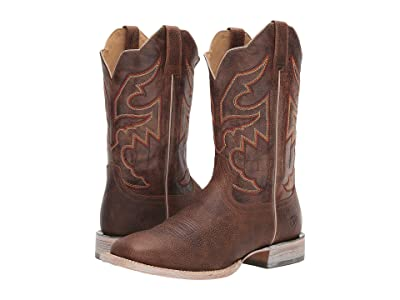 Ariat Sorting Pen (Toffee Crunch/Stormy Night) Cowboy Boots