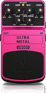 Behringer Ultra Metal UM300 Heavy Metal Distortion Instrument Effect Pedal,Pink