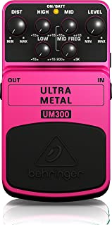 Behringer Ultra Metal UM300 Heavy Metal Distortion...
