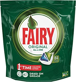 Fairy Original All-in-One Regular Dishwasher Tablets - 84 Tablets