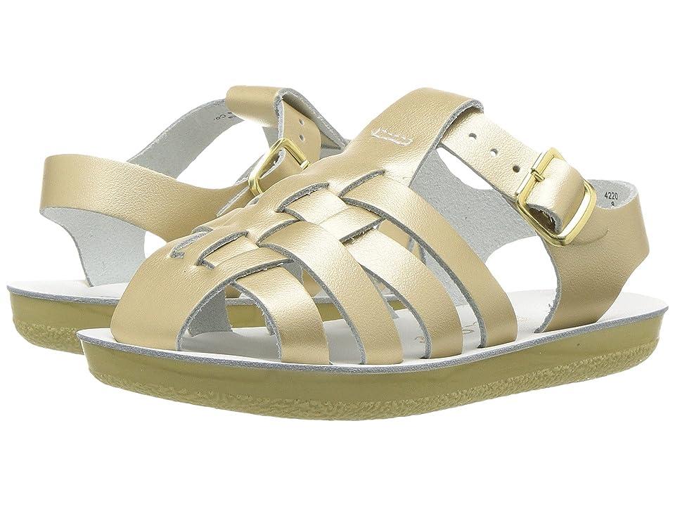 Salt Water Sandal by Hoy Shoes Sun-San Sailors (Toddler/Little Kid) (Gold) Girls Shoes