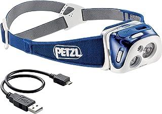 PETZL Reactik Linterna con Cinta para Cabeza, Ipx4, CE, Led, 1 Lámpara, Unisex Adulto