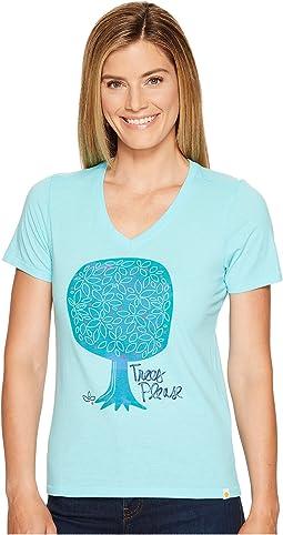 Life is Good - Trees Please Cool Vee