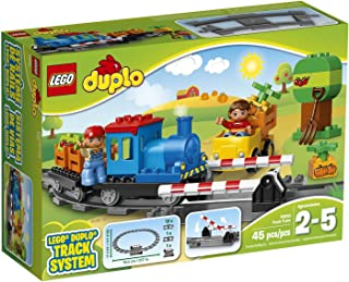 LEGO Duplo 10810 45 Piece Push Train Track System