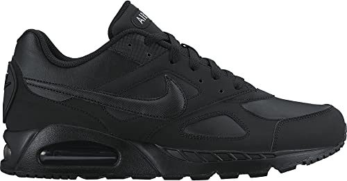 Nike Air MAX Ivo LTR - Hauszapatos Unisex, Color negro amarillo, Talla 45